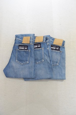 【ordinary fits】5P ANKLE DENIM 3year/OM-P020