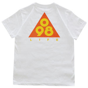 Triangle 098 Tee / LIFEdsgn (ORANGE)