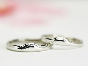 筑波山(女体山)の結婚指輪