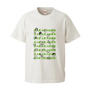 木村画伯×森野デザインTシャツ(ホワイト)