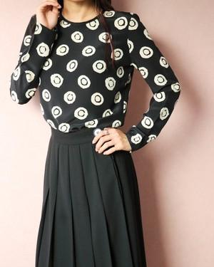 JAEGER dots silk blouse