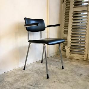 "GISPEN ""Model 1235"" Vintage Arm Chair BLK  オランダ"