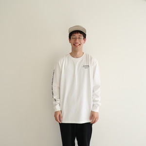 NA Logo Long Sleeve TEE Shirts (White)