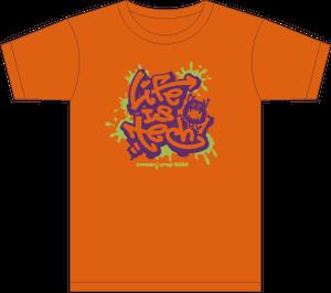 SUMMER CAMP 2020 Tシャツ - オレンジ