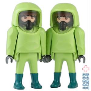 プレイモービル 3180 危険物処理班 フィギュア2体のみ