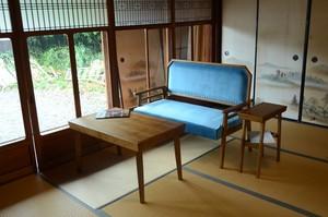 JP Modern 2P Sofa BL / 和モダンスタイル モダン 2人用 ソファ / ブルー