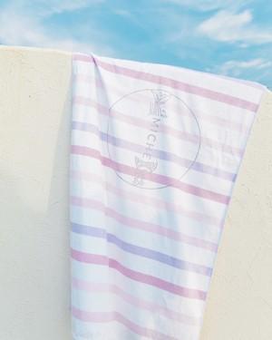 Beach Towel ~Pua Pink~