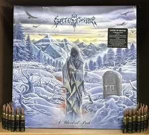 "GATES OF ISHTAR ""A Bloodred Path (Re-issue 2017, Gatefold black LP+CD & LP-Booklet)"""