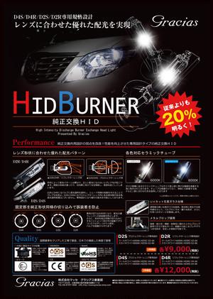 グラシアス HID 純正交換タイプHID D2S/D2R 光量20%アップのバナーです!!!
