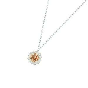 【オンラインショッピング限定】PTブラウンダイヤモンドペンダント