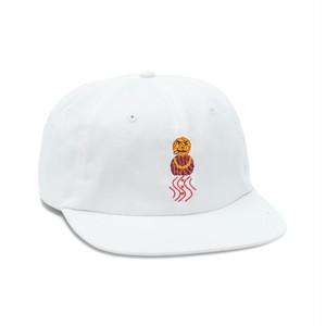 QUARTERSNACKS / SNACKMAN CAP -WHITE-