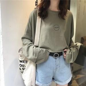 【お取り寄せ商品】プリントロングTシャツ 7433