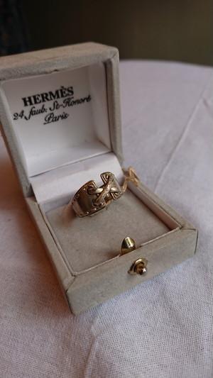 HERMES Ring Siver