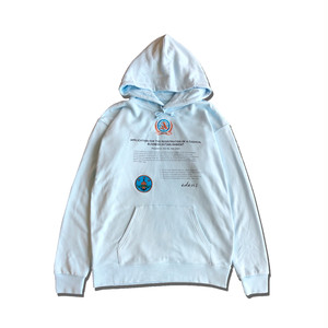 CONTRACT HOODIE / BLUE