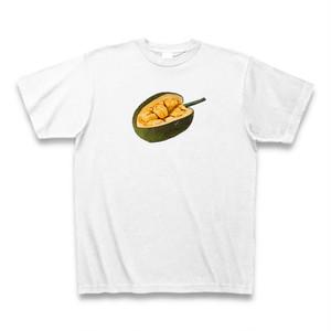 送料無料 ドリアンTシャツ ドリティホワイト  おもしろい パロディTシャツ【DTWH】