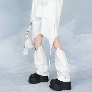 00sフェイクレザーレッグカバー(全2色) / HWG466