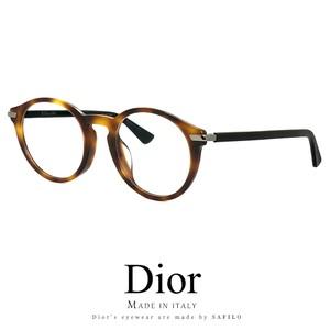 Dior メガネ dioressence5f-581 眼鏡 メンズ レディース ディオール Christian Dior ラウンド ボストン型 丸眼鏡 丸メガネ
