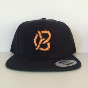 "Snapback Cap ""Pretzel"" / Navy"