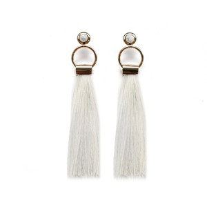 SOL Earrings GOLD/IVORY