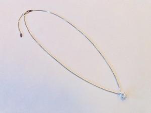 PT900 D0.645ct I- I1- GOOD ダイヤネックレス