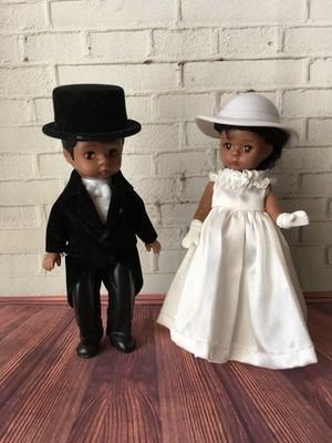 花嫁&花婿 Memories of a Lifetime Bride & Groom 2002年製 マクドナルド×マダムアレクサンダードール ウエディングギフトにも。ウェルカムドールにも。