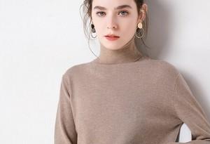 15 colors Simple turtleneck knit top 15カラー シンプル タートルネック ニット トップス