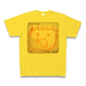 Rough Trashes Tシャツ マスタード