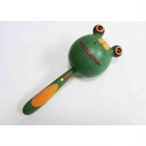 カエルのマラカス バリ人形 mmbne68-1610