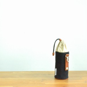 CANVAS PETBOTTLE HOLDER / BLACK