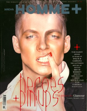 ARENA HOMME PLUS WINTER/SPRING  2010/2011