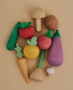 Raduga Grez Wooden Vegetable Set