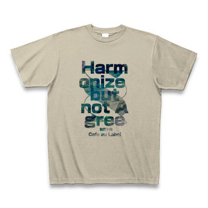 Tシャツ / Harmonize but not Agree- / Color [Silver Gray]