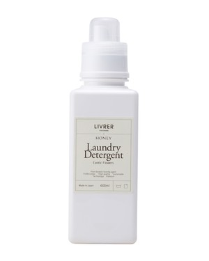 600ml】HONEY × LIVRER yokohama Laundry Detergent【Exotic Flowers】