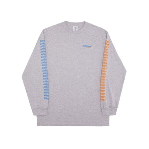 ALLTIMERS / COUNT IT UP L/S  TEE -GRAY-