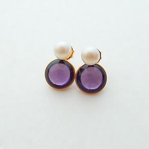 2way  pearl + glass - purple