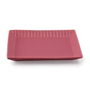 「ライン」 トーストプレート 皿 長幅20cm ベリー 美濃焼 287170