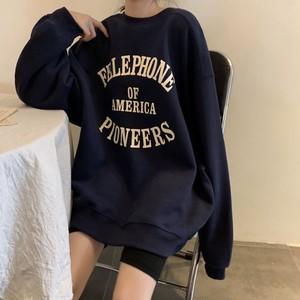 Drop shoulder oversize sweatshirt LD0202