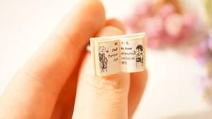 豆本指輪「恋の病」