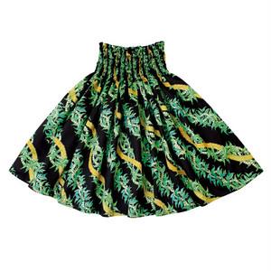Hawaiianpaint KAN パウスカート 【Royal Ilima Black】