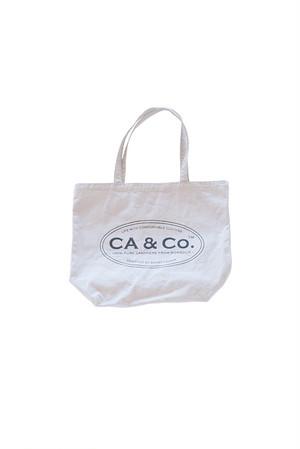 CA & Co. / コットントートバッグ(アイスグレー)