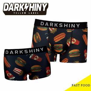 【DARK SHINY】【ペア】FAST FOOD / YLMM36&YLLB22 ダークシャイニー イエローラベル メンズ レディース ボクサー パンツ