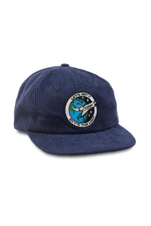QUARTER SNACKS SKY'S LIMIT CAP NAVY