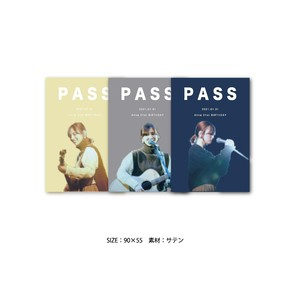 21st BIRTHDAY パスステッカー(3枚組)