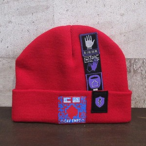 C.E PATCHED KNIT CAP