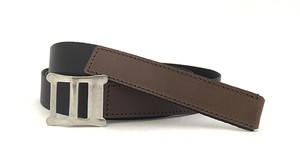 RE.ACT Buttero x Nylon Combi Belt  Choco