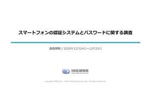 スマートフォンの認証システムとパスワードに関する調査