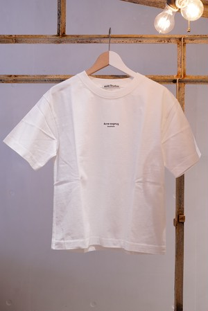 Acne Studios / STAMP T-SHIRTS (OPTIC WHITE)