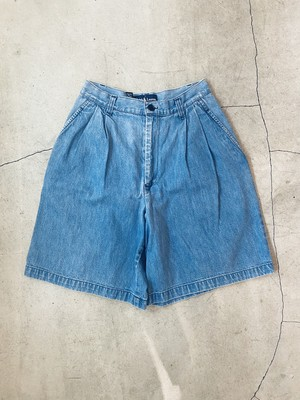 """"""" Ralph Lauren """" vintage denim half pants"""