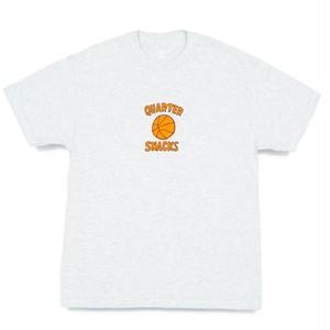 QUARTERSNACKS / BALL IS LIFE TEE -ASH-