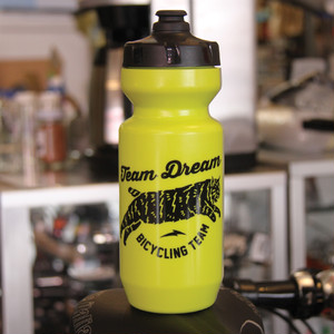 TEAM DREAM BICYCLING TEAM / 22oz Chubby Bobcat Bottle / SlimeGreen